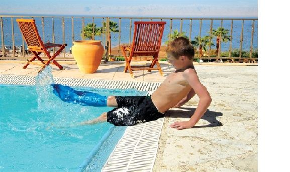 Dusjbeskytter Barn –  Hel Ben 4 – 9 år